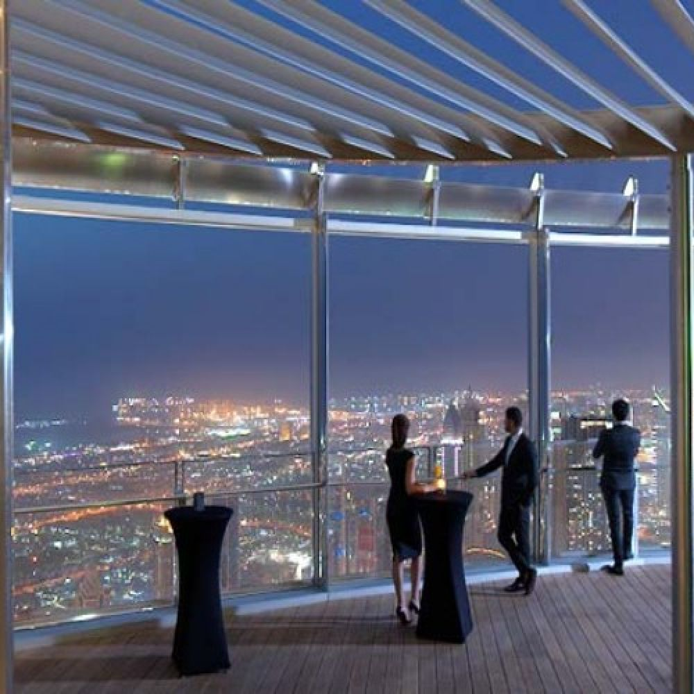 Burj Khalifa 124th, 125th + 148th Floor Observatory Ticket